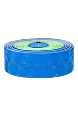Supacaz Supacaz SSK Neon Green & Neon Blue Super Sticky Kush Handlebar Tape, Multi Colour  /set