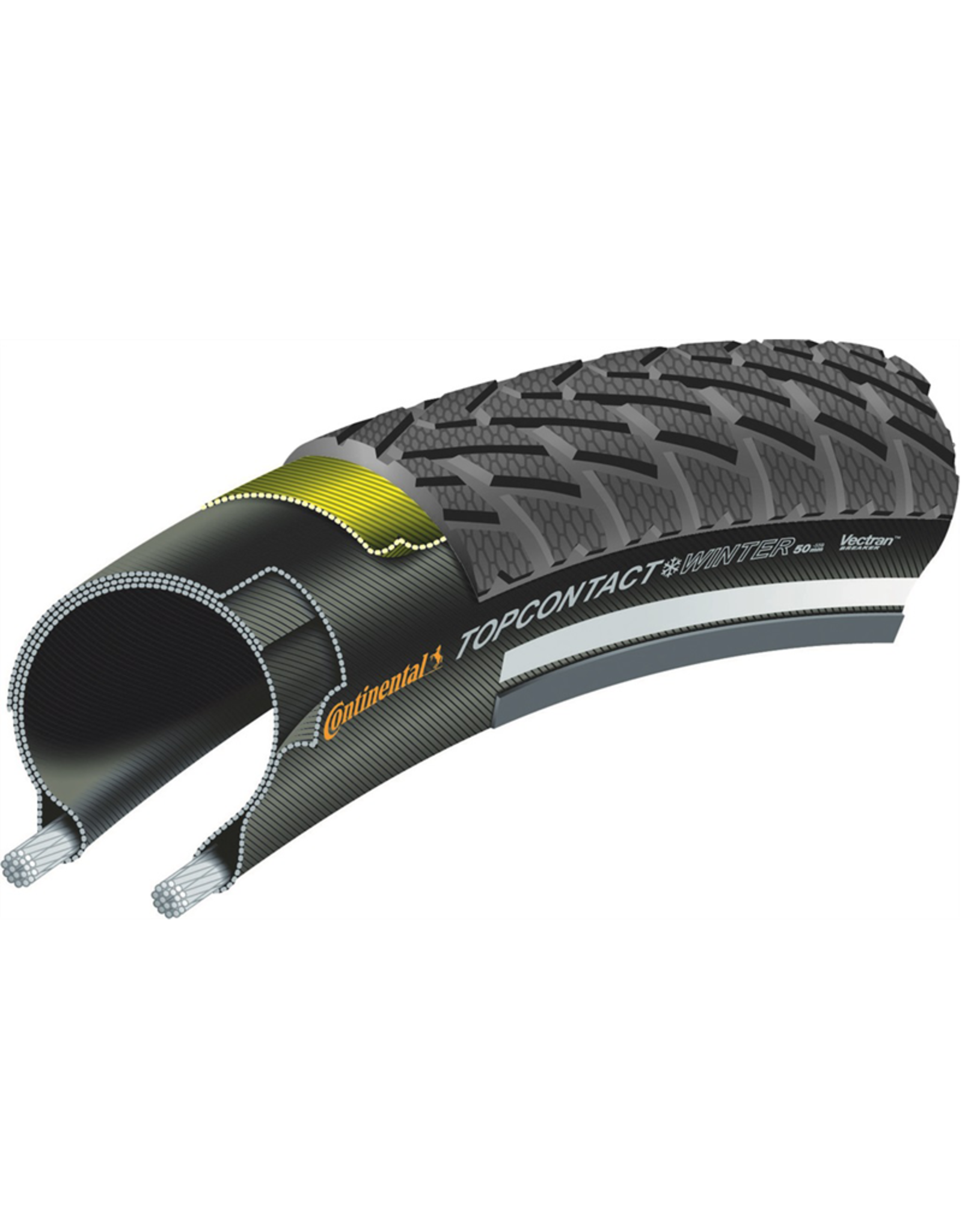 Continental CONTINENTAL TOP CONTACT WINTER II PREM WIRE REFLEX