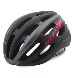 Giro SAGA MAT BLACK/BRIGHT PINK S