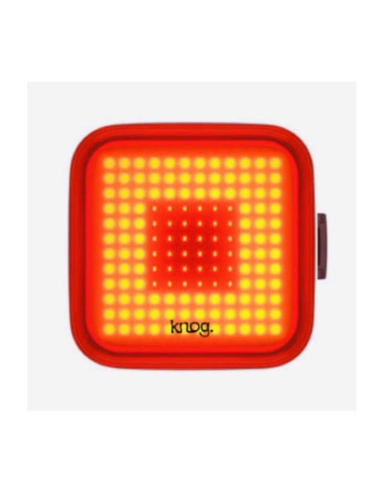 Knog KNOG - Blinder Square Black Rear Bike Light