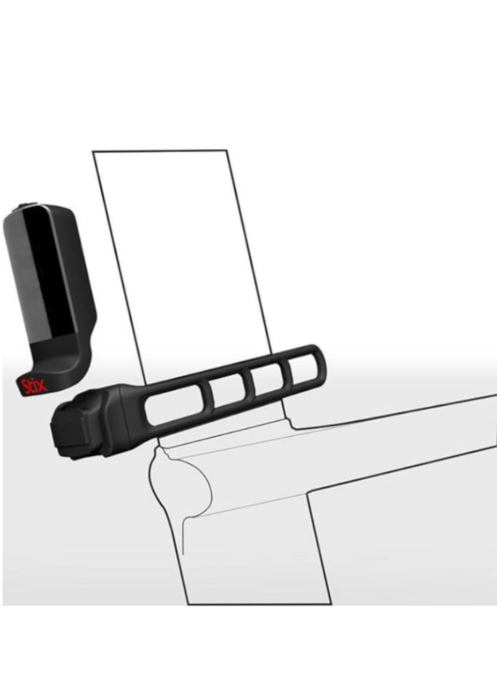 Specialized - STIX AERO STRAP MOUNT Black