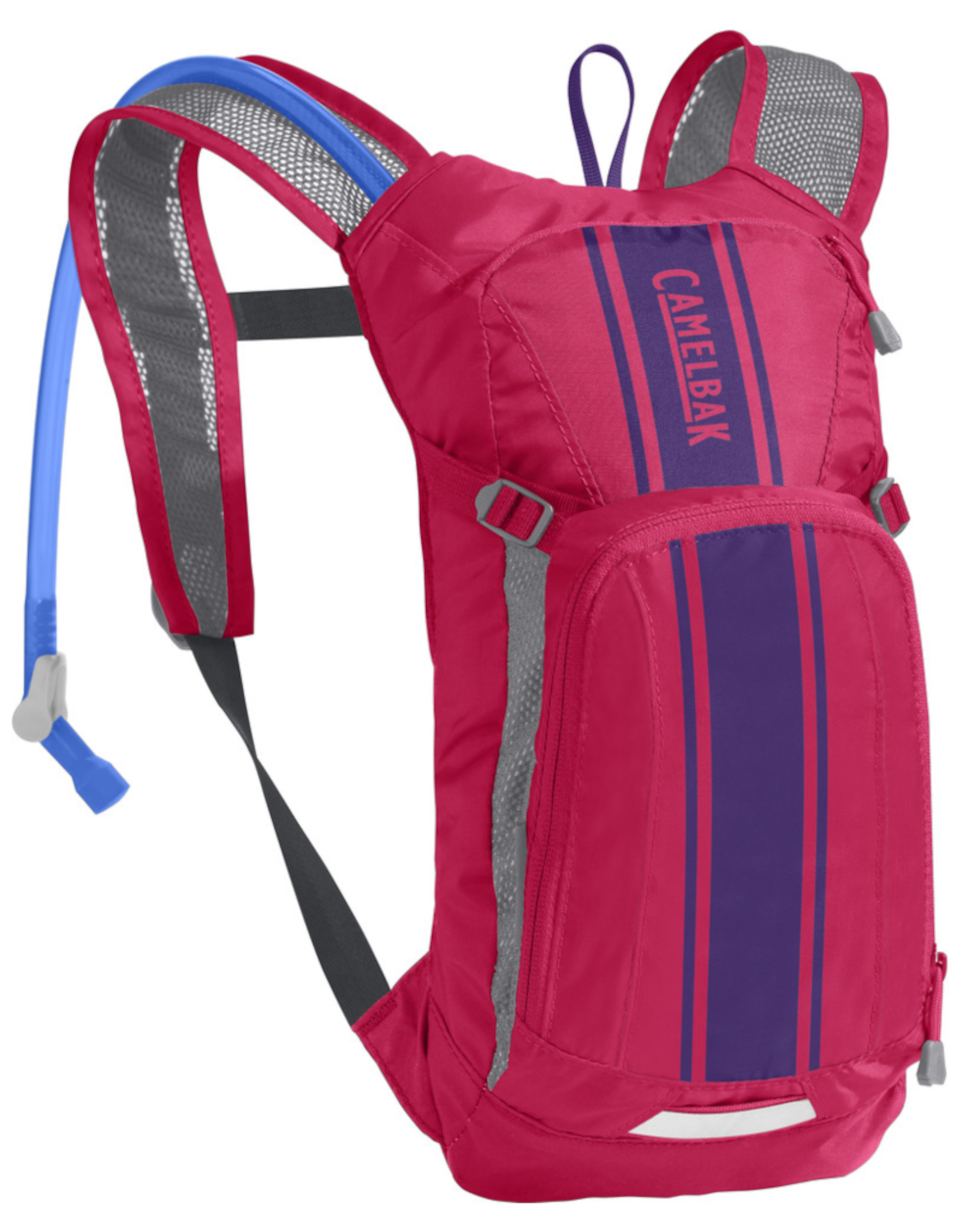 Camelbak MINI M.U.L.E. 50 OZ HOT PINK/PURPLE STRIPE