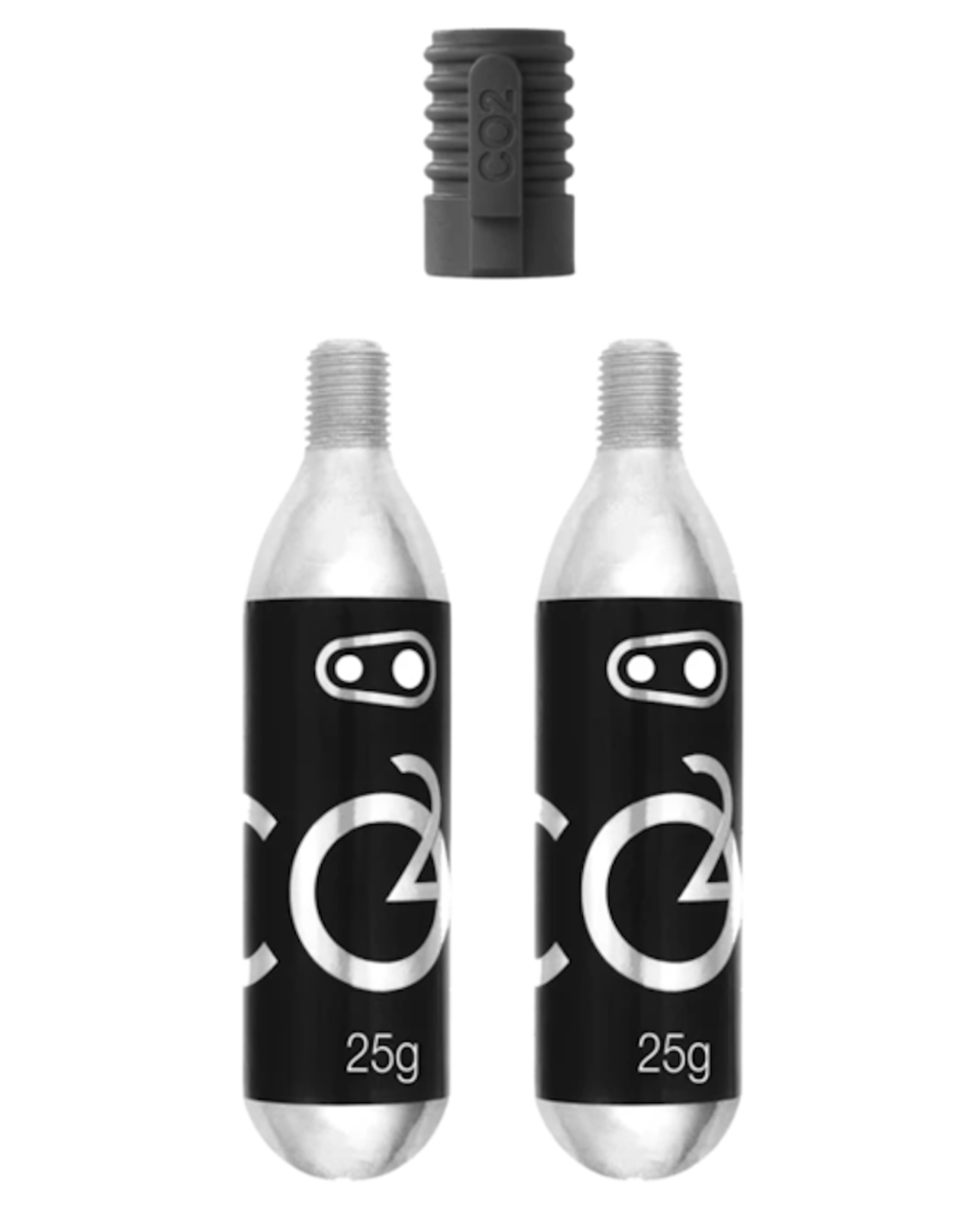CRANK BROTHERS Crankbrothers - CO2 25G Cartridge (2 Units) with inflator