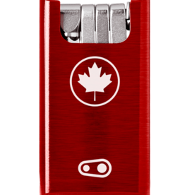 CRANK BROTHERS Crankbothers - F10 + Tool - Canada Red Case