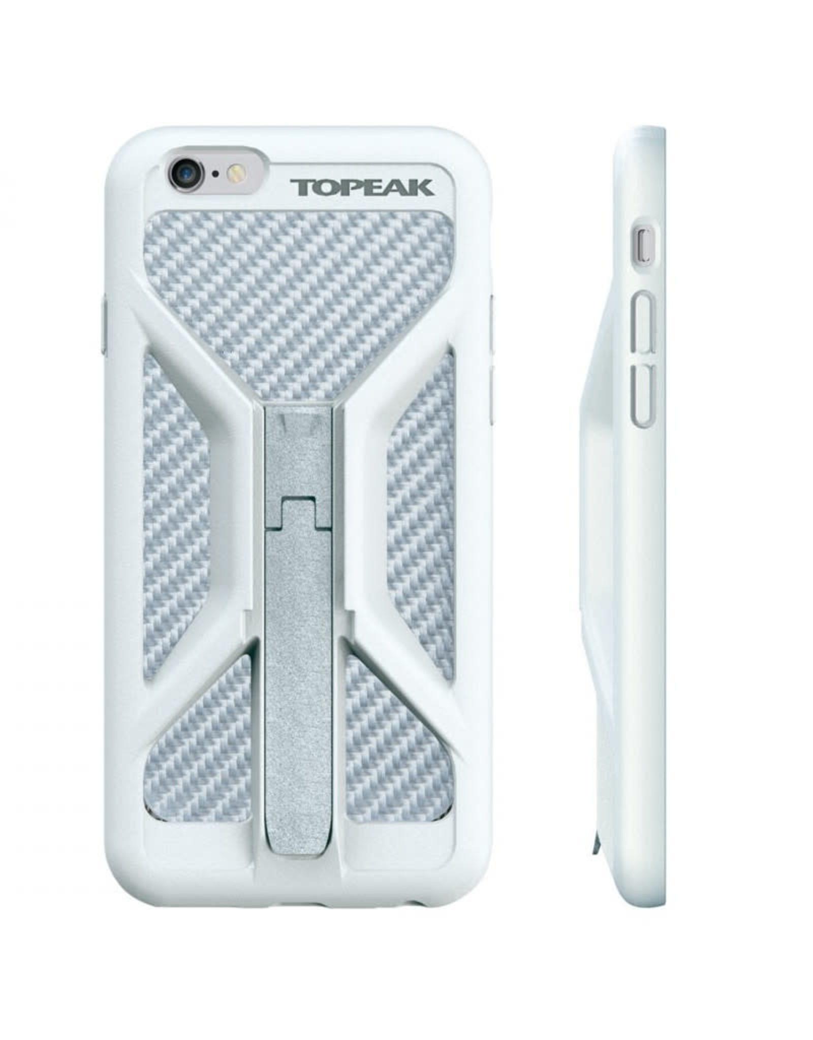 Topeak Topeak - RIDECASE Iphone 7/6S/6 blanc