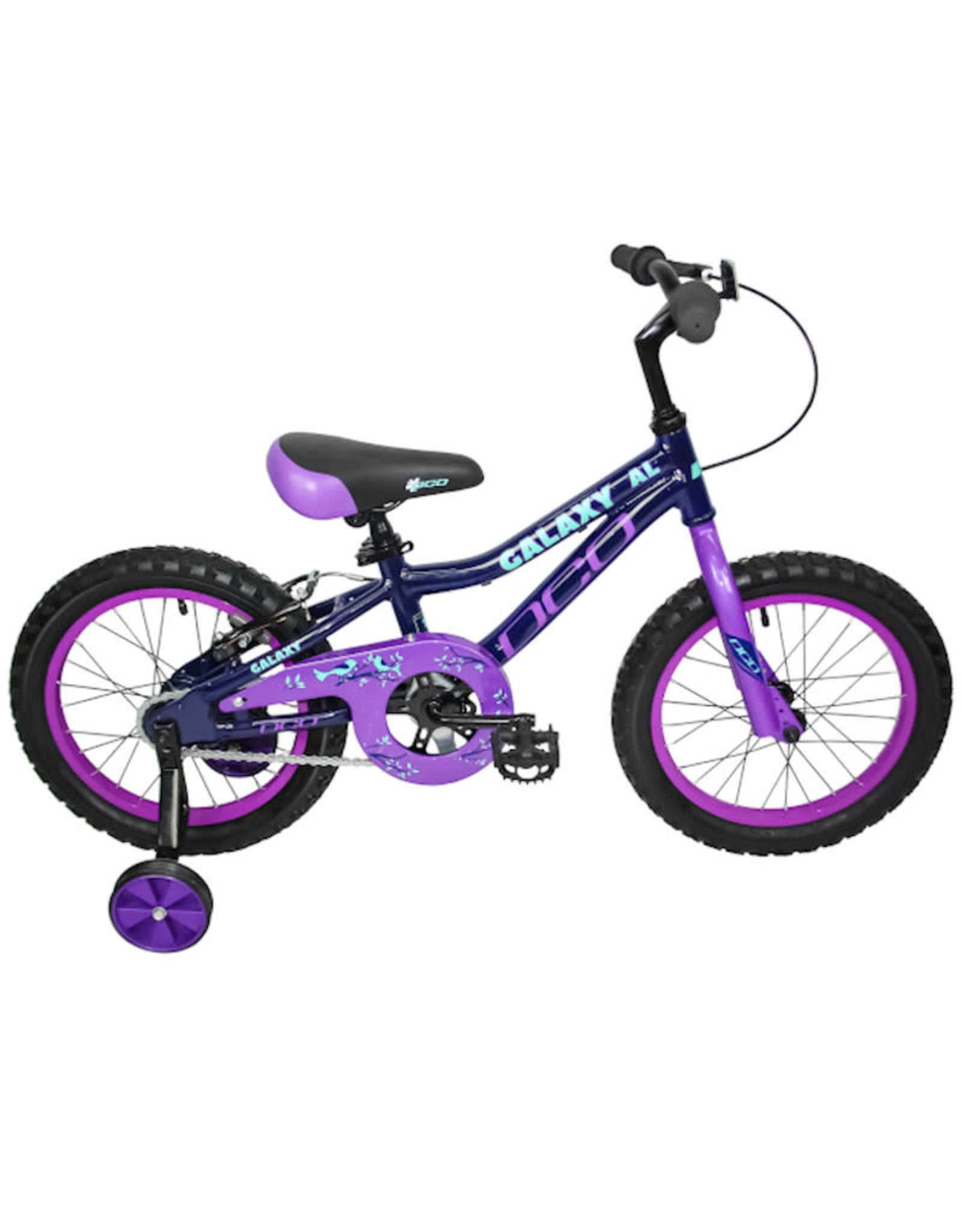"""DCO Bicycles DCO - Galaxy aluminium léger 16"""""""