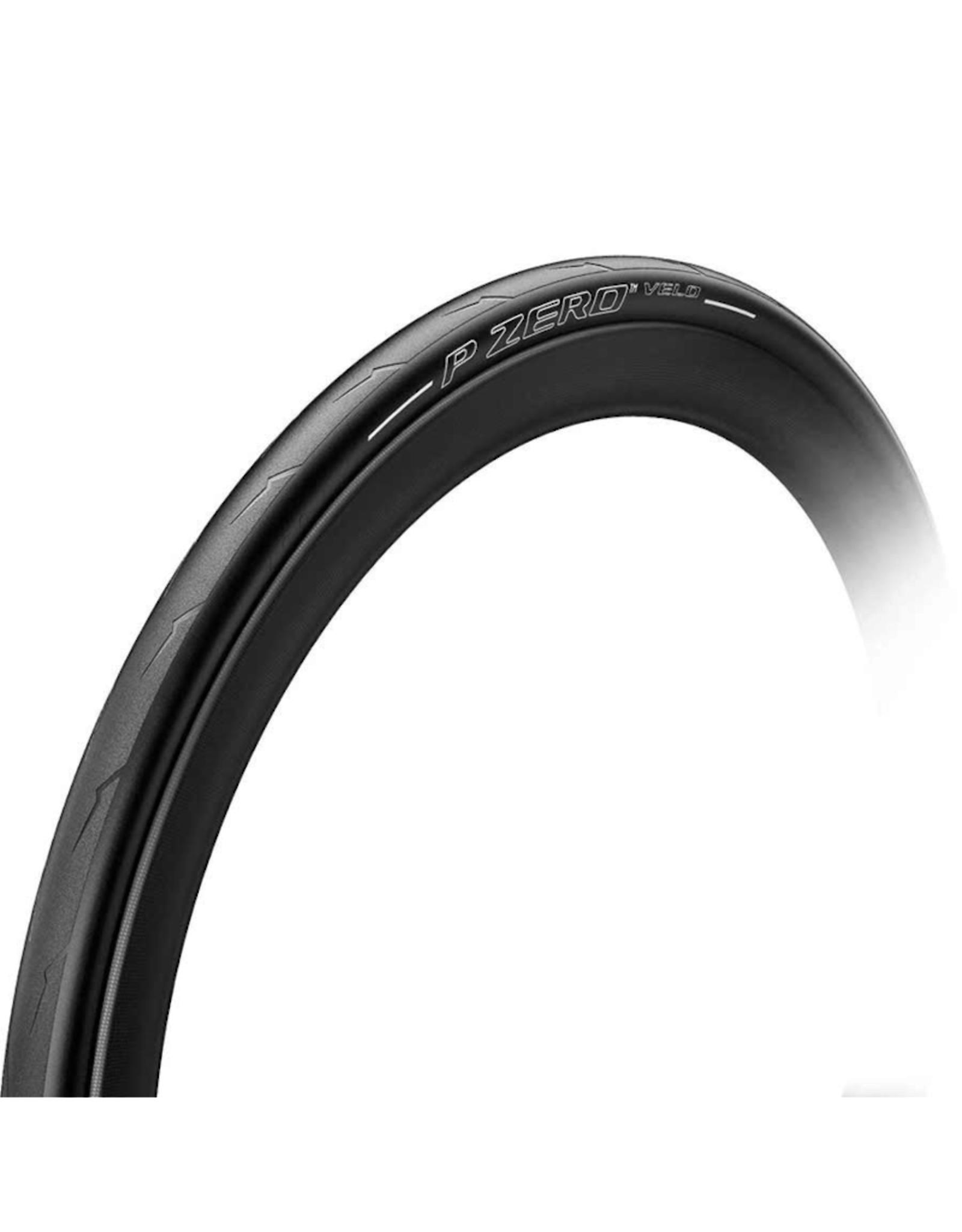 Pirelli Pirelli, PZero Velo, 700x28C, Pliable, Smartnet Silica, Aramid Fiber, 127TPI, 230g, Noir
