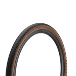 Pirelli Pirelli, Cinturato Gravel H, Pneu, 700x40C, Pliable, Tubeless Ready, SpeedGrip, 127TPI, Flanc Beige