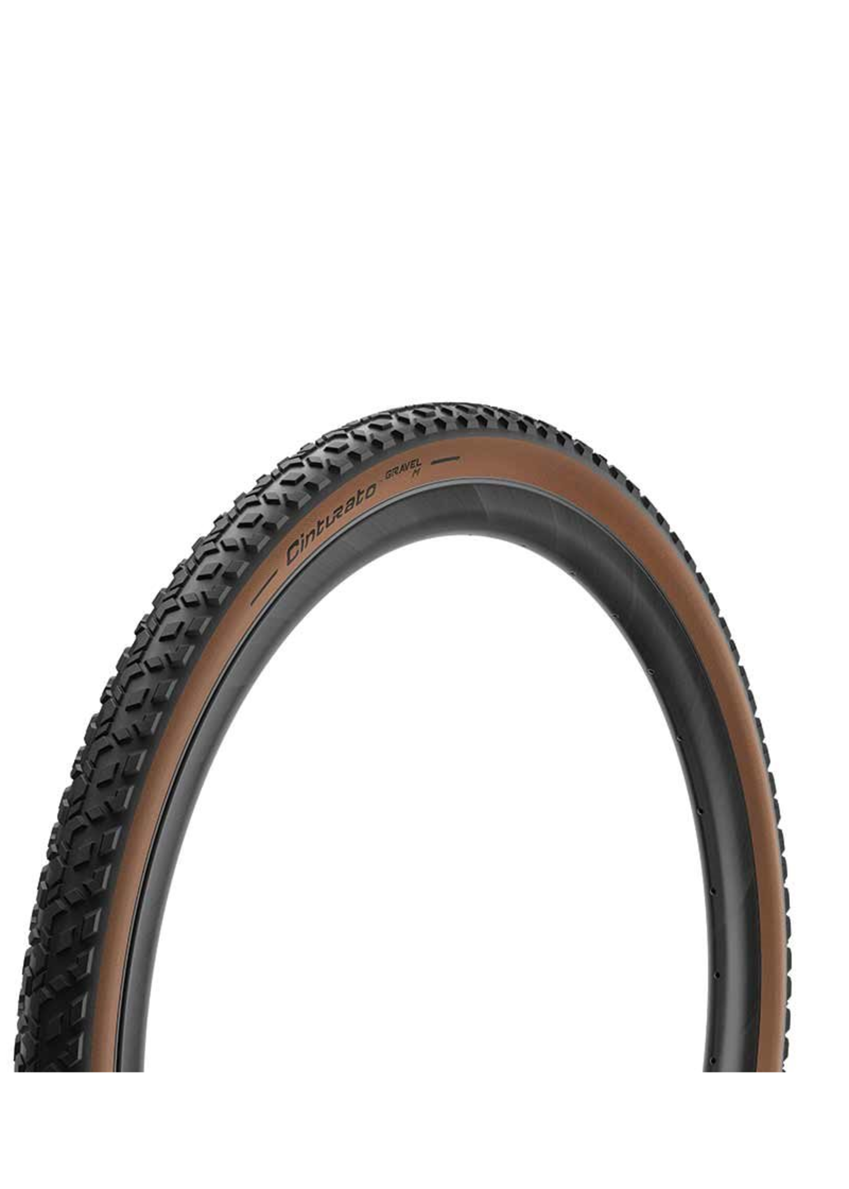 Pirelli Pirelli, Cinturato Gravel M, Pneu, 650Bx45, Pliable, Tubeless Ready, SpeedGrip, 127TPI, Flanc Beige