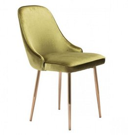 GREEN VELVET MERRITT CHAIR