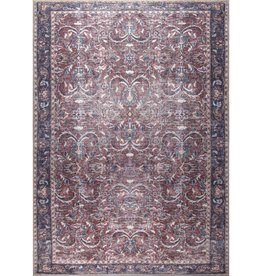 TAPIS DANTE ORANGE BRULÉ 5' x 8'