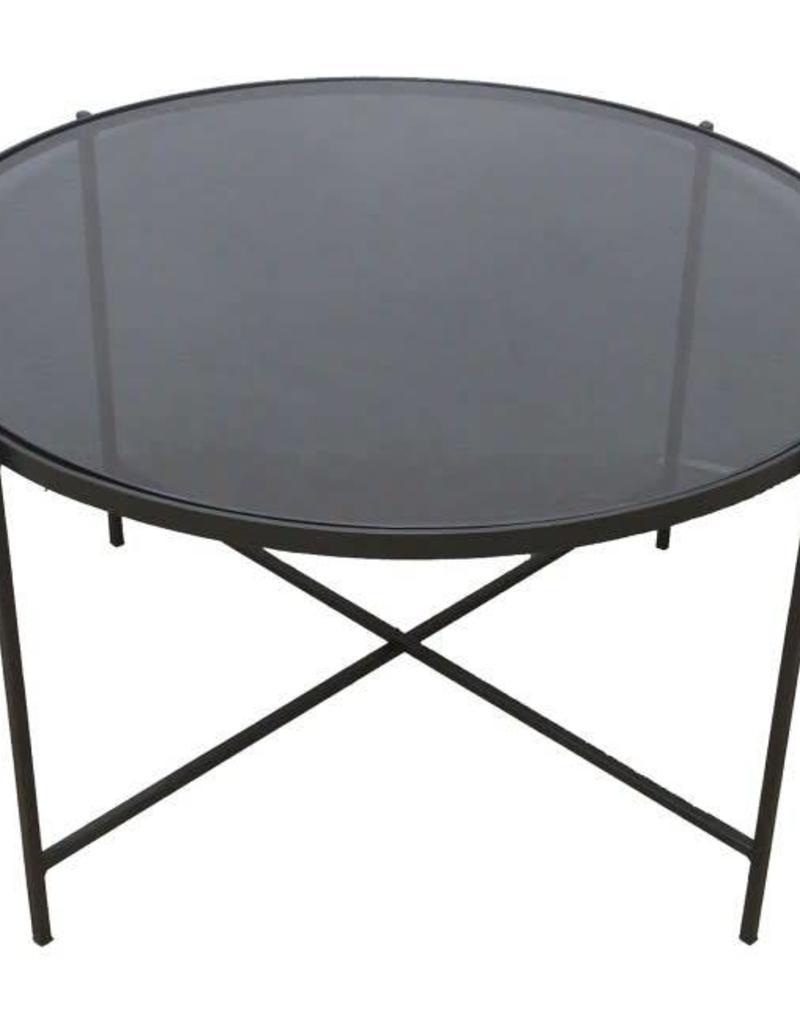 """TABLE DE SALON BRANTLEY  D30"""" x H:20"""""""