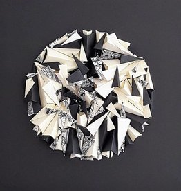"""PLIAGE 73,  ART PIECE BY  KARINE DEMERS  10""""x10"""""""