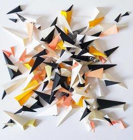 """PLIAGE 55 ART PIECE BY KARINE DEMERS  10""""x10"""""""