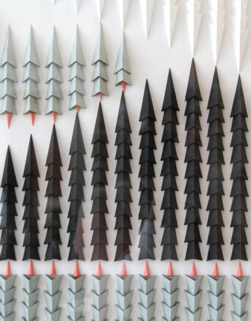 """PLIAGE 77 ART PIECE BY KARINE DEMERS  32""""x32"""""""
