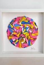 "SMALL IS BEAUTIFUL ART PIECE BY KARINE DEMERS 2X - 10""x10"""