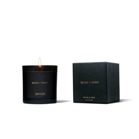 AMBER - SPRUCE CANDLE