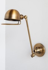 CABRITOS I WALL SCONCE BRASS