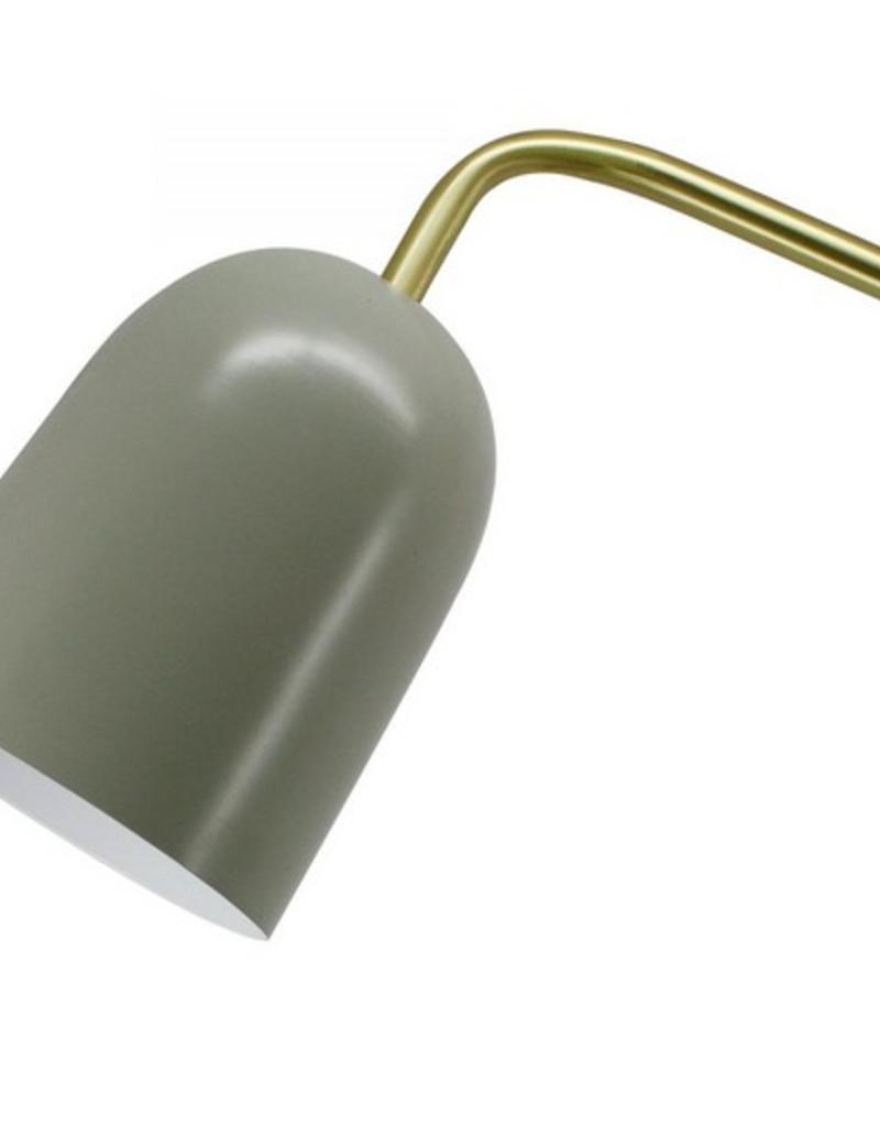 PARKER FLOOT LAMP LONDON / BRASS