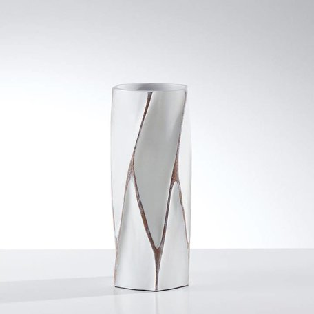 ORGANIQUE WHITE VASE