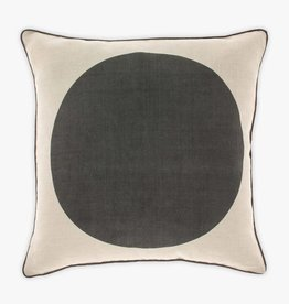COUSSIN DE LIN POINT GRIS 20x20