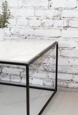 TABLE DE SALON MARBRE LeNOIR PAR LOVASI