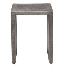 CEMENT SIDE TABLE