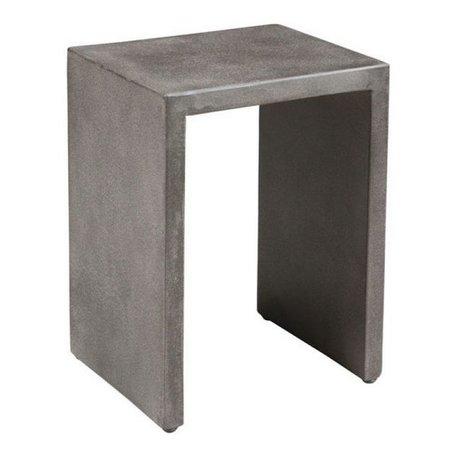 CIMENT SIDE TABLE L