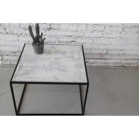 CONCRETE SIDE TABLE LeNOIR BY LOVASI