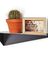 BLACK ANGLE SHELF  4.5x 17.5 x 5