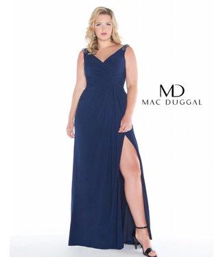 Mac Duggal 66388 Robe droite effet drappé