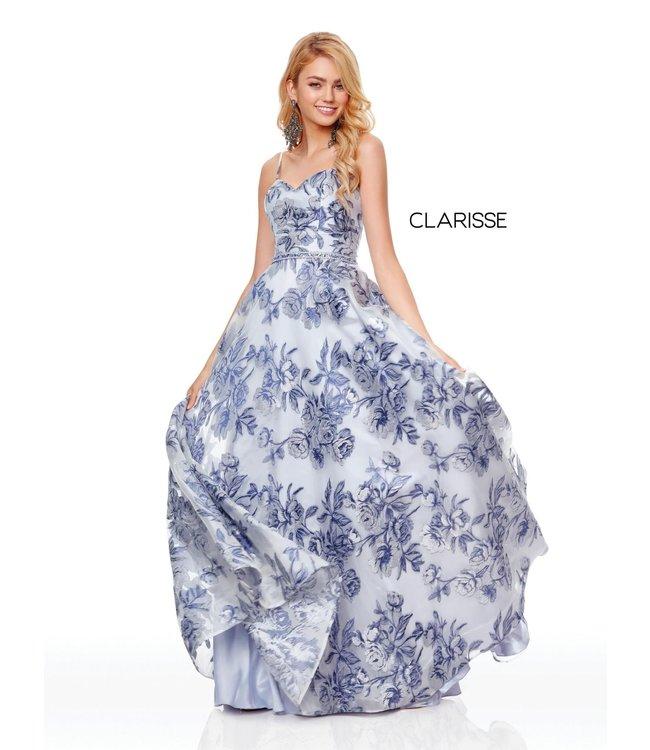 Clarisse 3702 Robe bustier coupe en A
