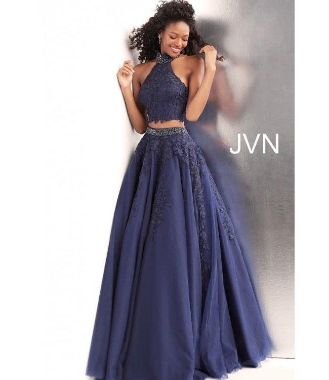 Jovani 68259 Robe coupe en A deux pièces