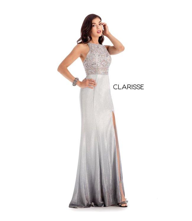 Clarisse 8100 Robe ajustée et brillante