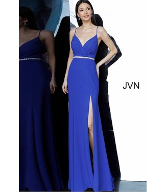 Jovani 02713 Robe ajustée à ceinture perlée