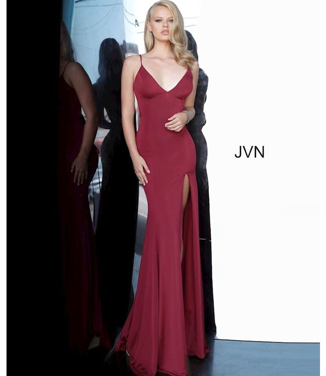 Jovani 02071 Robe ajustée à dos lacé