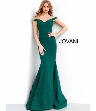 Jovani 55187 Robe ajustée à encolure en coeur