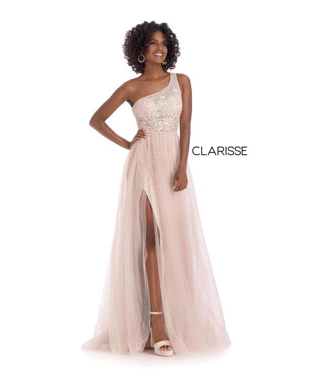 Clarisse 5118 Robe fluide une bretelle