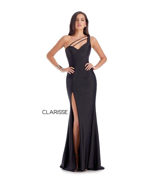 Clarisse 8041 Robe ajustée et dos lacé