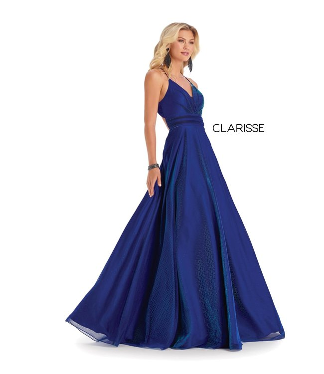 Clarisse 8086 Robe en A dos ouvert