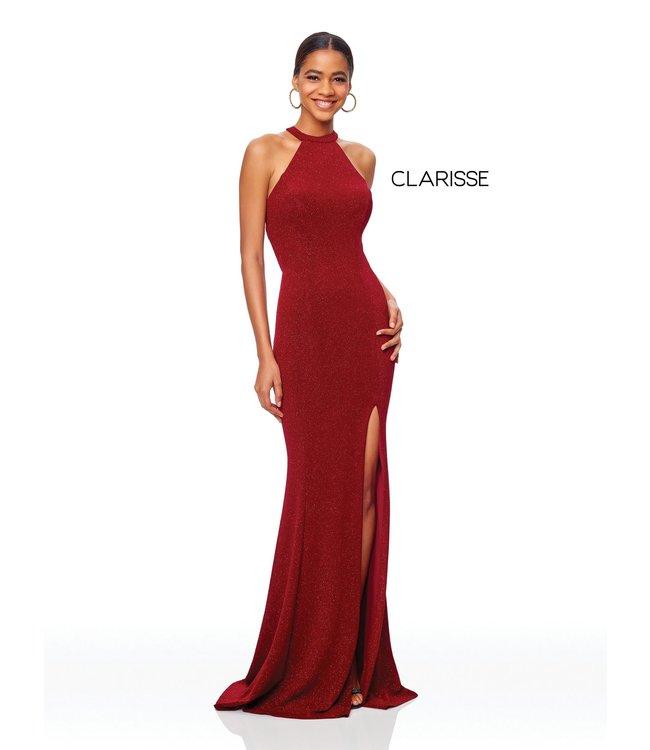 Clarisse 3830 Robe scintillante et ajustée