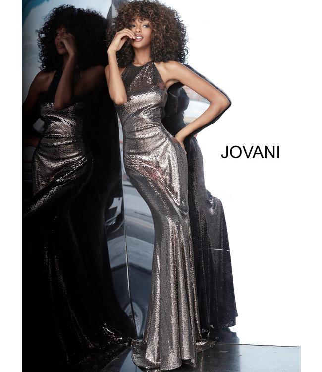 Jovani * EX * 2812 Robe ajustée scintillante