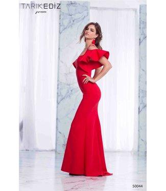 Tarik Ediz 50044 robe ajustée avec manches