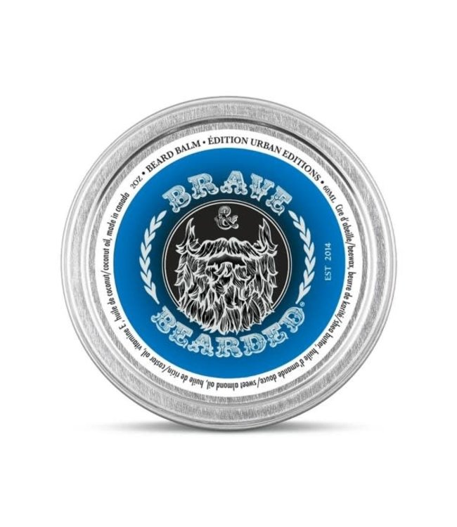 Brave Bearded BAUME A BARBE STYLE URBAN
