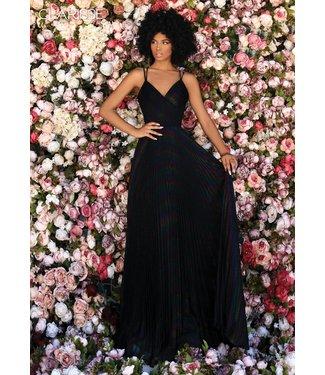 Clarisse 800283 robe noire/multi