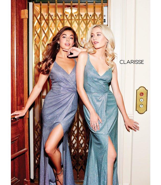Clarisse 3766 Robe ajustée scintillante