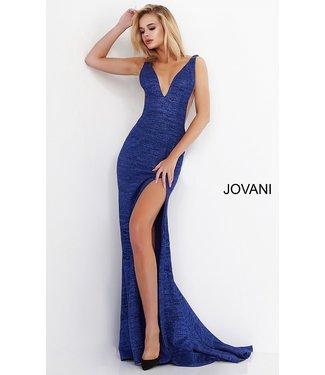 Jovani 02472 Robe ajustée scintillante