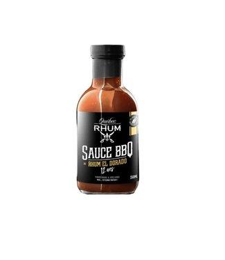 Québec Rhum Sauce BBQ au Rhum El Dorado 12 ans/ 350 ML