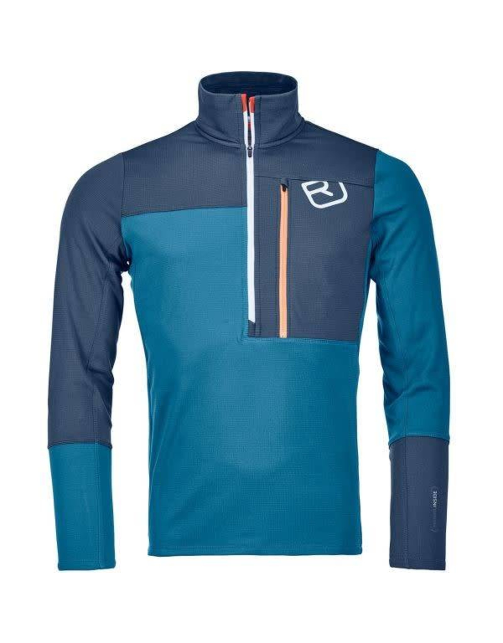 Ortovox Ortovox Merino Fleece Light Zip Neck