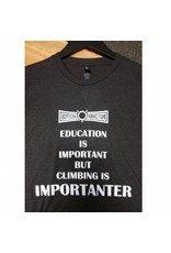 Vertical Addiction Education Climbing T